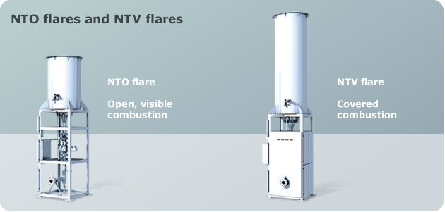 NTO flares and NTV flares
